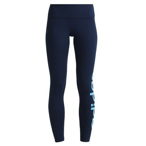 adidas Performance ESSENTIALS LINEAR Legginsy blue