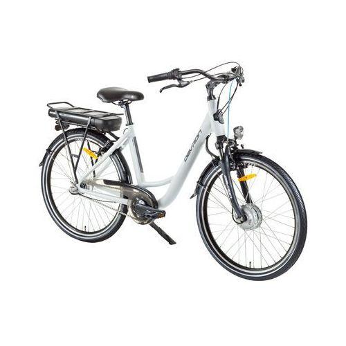 """Miejski rower elektryczny Devron 26120 26"""" - model 2017, Biały, 18"""""""