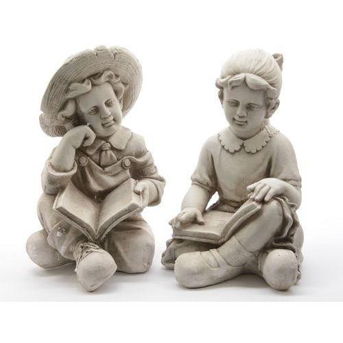 Figurka siedzącego chłopca z książką 827635-2 - oferta [05846a2425f55574]