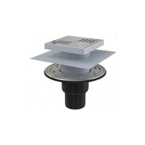 Kratka ściekowa 150x150 mm odpływ pionowy Alcaplast APV4444 (kratka ściekowa)