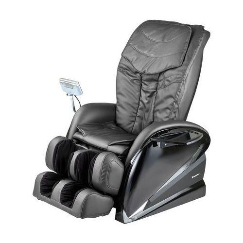 Fotel do masażu inSPORTline Sallieri czarny, Czarny