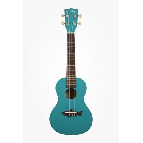 makala mk-c shark ukulele koncertowe kolor niebieski marki Kala