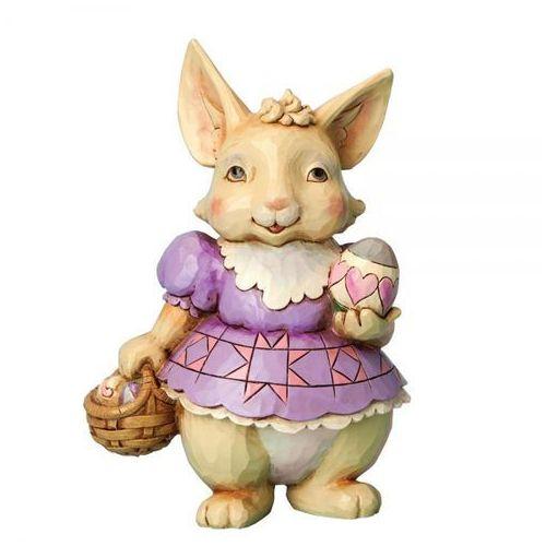Panna Króliczkowa z pisanką Bunny with Egg 4037675 Jim Shore figurka ozdoba świąteczna