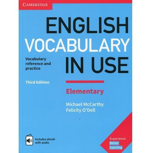 English Vocabulary in Use Elementary with answers and ebook with audio - Cambridge University Press (9781316631522)