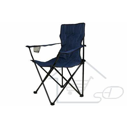 Krzesełko składane wędkarskie - Krzesło turystyczne niebieskie
