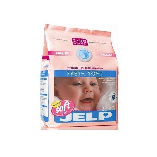 JELP Hipoalergiczny proszek zmiękczający Fresh Soft biel 2,4 kg (28 prań) (proszek do prania ubrań)