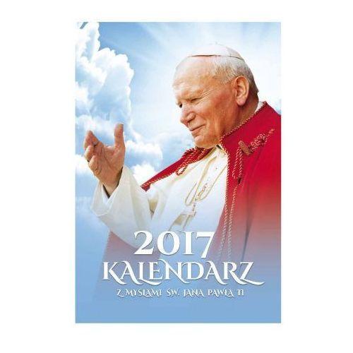 Kalendarz papieski na 2017 rok z janem pawłem 2 marki Produkt polski