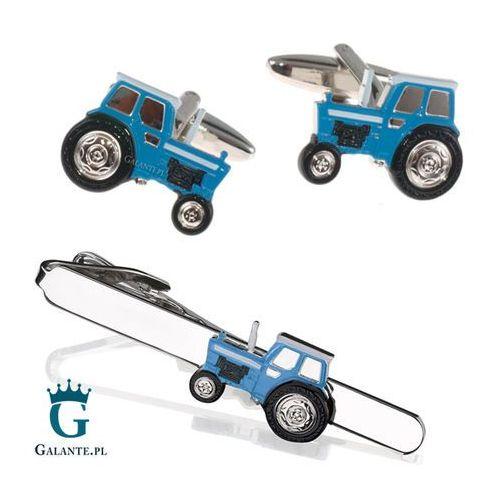 Galante Komplet biżuterii niebieski traktor sdk-1296