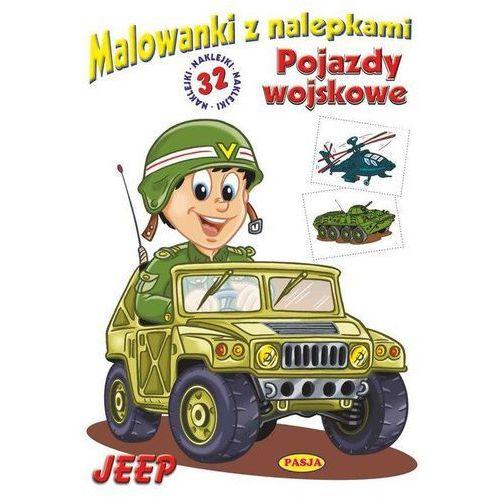 Jeep - pojazdy wojskowe. Malowanki z nalepkami - Ernest Błędowski, Ernest Błędowski