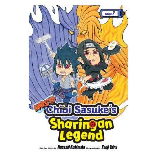 Naruto: Chibi Sasuke's Sharingan Legend, Vol. 2 (9781421597119)