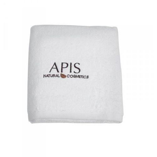 Apis professional Apis ręcznik frotte z logo 70x140 – szary