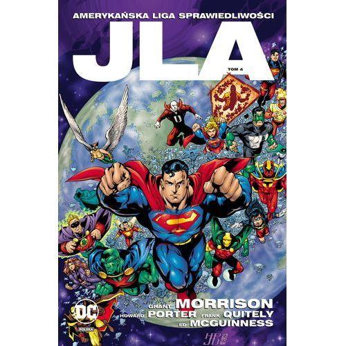 JLA Amerykańska Liga Sprawiedliwości. Tom 4 - Opracowanie zbiorowe (2017)
