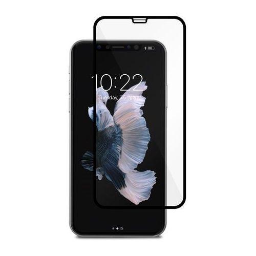 Moshi IonGlass Szkło Hartowane 9H Na Cały Ekran iPhone Xs / X (Black), kolor czarny