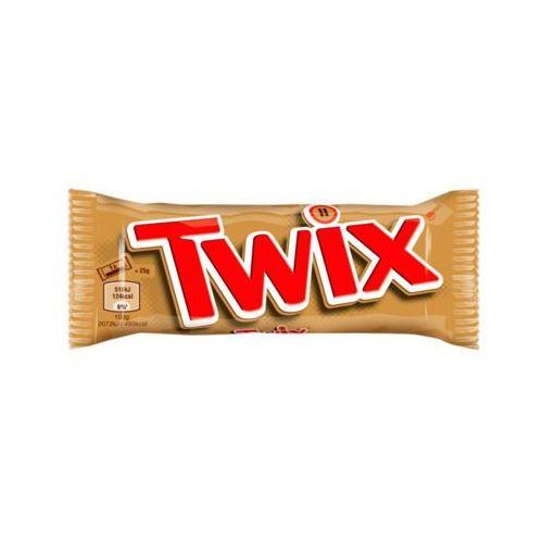 TWIX 50g Baton z ciastkami i karmelem oblany czekoladą