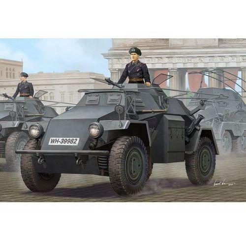 Niemiecki lekki samochód pancerny SdKfz 223 Leichter Panzerspahwagen (seria 1) HobbyBoss 83817