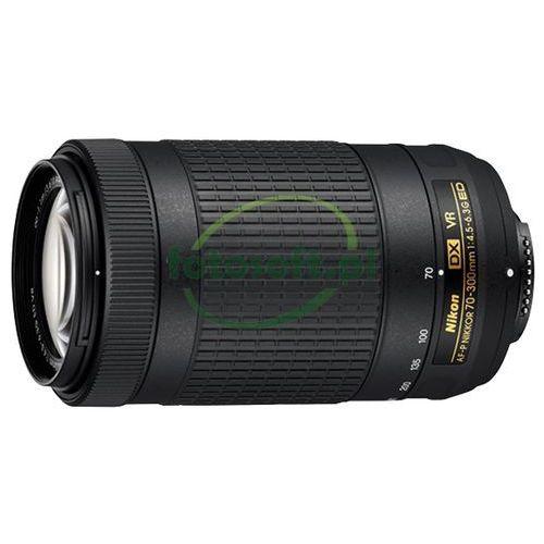 nikkor af-p dx 70-300mm f/4.5-6.3g ed vr cashback zwrot od nikon 430 zł marki Nikon