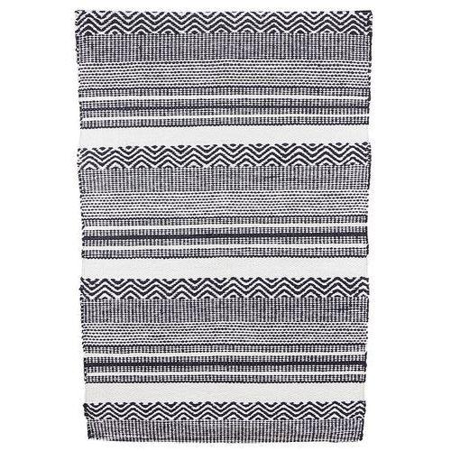 Dywanik INKA, czarno-biały, 70 x 180 cm Hz0137-70x180 - oferta [0556eb0011b2b66f]