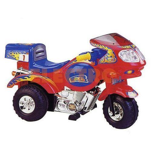 Motocykl ARKUS ECO1 A - CZERWONY + DARMOWA DOSTAWA + BRAK OPŁATY ZA FORMY PŁATNOŚCI + Odbiór w 800 punktach Stacji z paczką! (motor zabawka) od ELECTRO.pl
