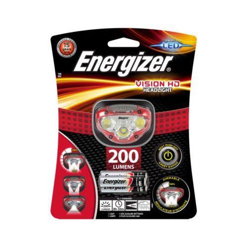 Energizer 200 lumens vision hd headlight latarka czołowa + 3aaa