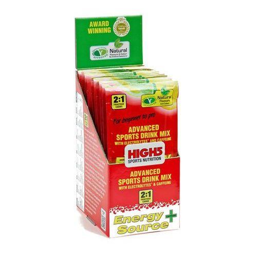 High5 EnergySource Plus Żywność dla sportowców Lemon 12 x 47g żółty/czerwony 2018 Zestawy i multipaki