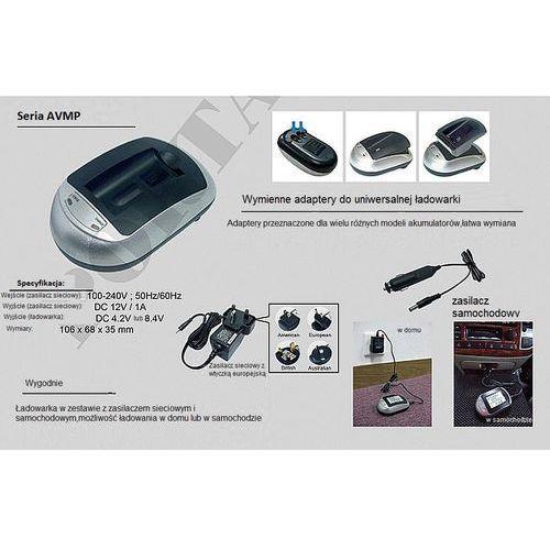 """gustaf"" kacper gucma Panasonic vw-vbn130 ładowarka avmpxse z wymiennym adapterem (gustaf)"