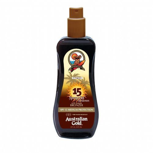 spf 15 spray gel bronzer | spray do opalania z bronzerem 237ml marki Australian gold