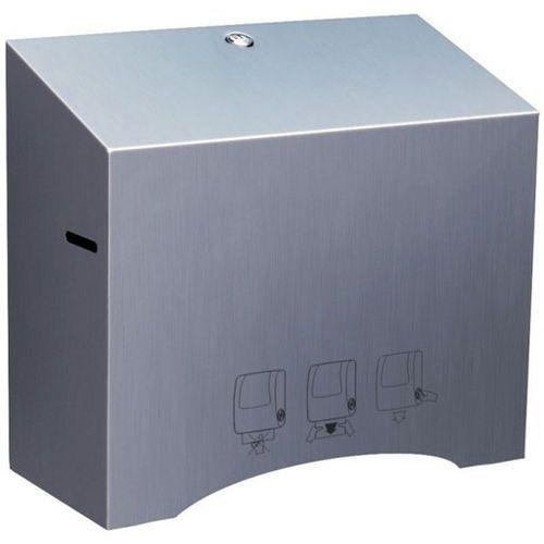 Mechaniczny pojemnik na ręczniki papierowe w roli Merida STELLA MINI stal matowa (5908248116284)