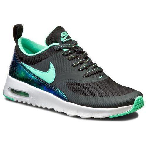 reputable site 94b40 2f2a9 Buty - air max thea se (gs) 820244 002 anthracite green glow marki Nike  339,00 zł wygodne, sznurowane buty dziecięce firmy NIKE.