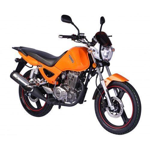 Motocykl ZIPP TOROS ZT125-5A Ion 125 Pomarańczowy (2015) od Media Expert