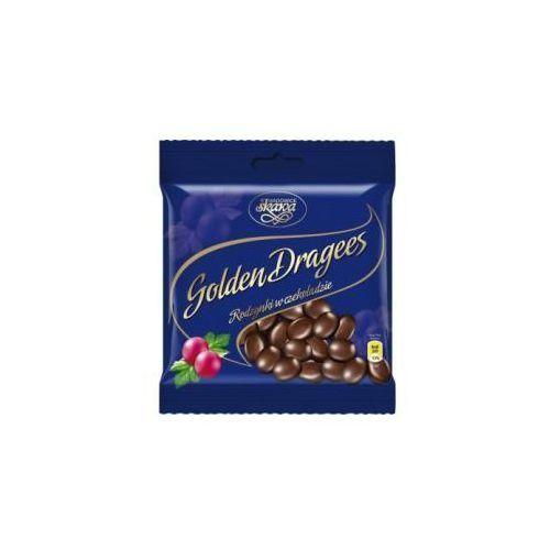 Draże golden dragees rodzynki w czekoladzie 100 g marki Skawa