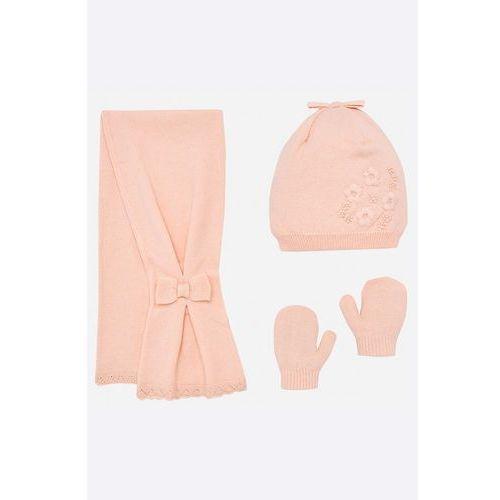 Mayoral - Czapka + szalik i rękawiczki dziecięce