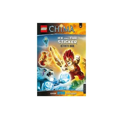 LEGO Chima Ice and Fire Sticker Activity Book