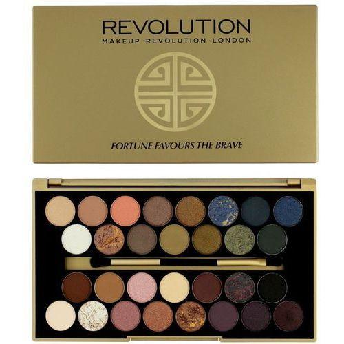 Makeup revolution fortune favours the brave paleta cieni do powiek z lusterkiem i aplikatorem (30 eyeshadows) 16 g