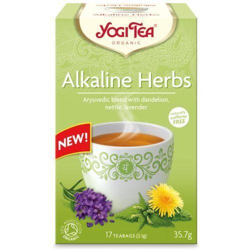 Yogi tea (herbatki) Herbatka zioła alkaliczne (mniszek, porzywa, lawenda) bio (17 x 2,1 g) 35,7 g - yogi tea