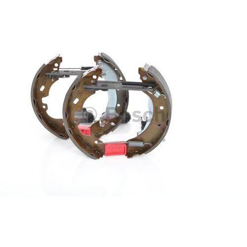 Bosch  kit superpro, zestaw szczek hamulcowych + cylinderek hamulca koła; zamontowany; z tyłu, 0 204 114 595
