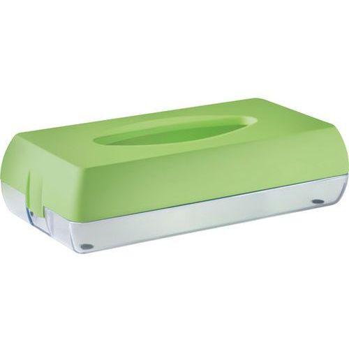 Pojemnik na chusteczki higieniczne Marplast plastik zielony (8020090082078)