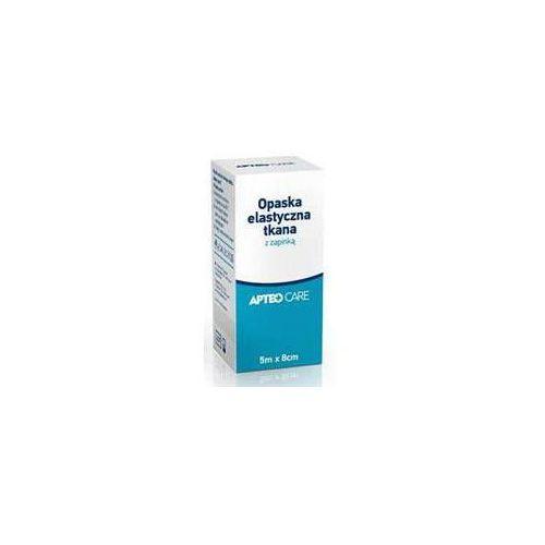 Synoptis pharma Apteo care opaska elastyczna tkana z zapinką 5m x 8cm x 1 sztuka