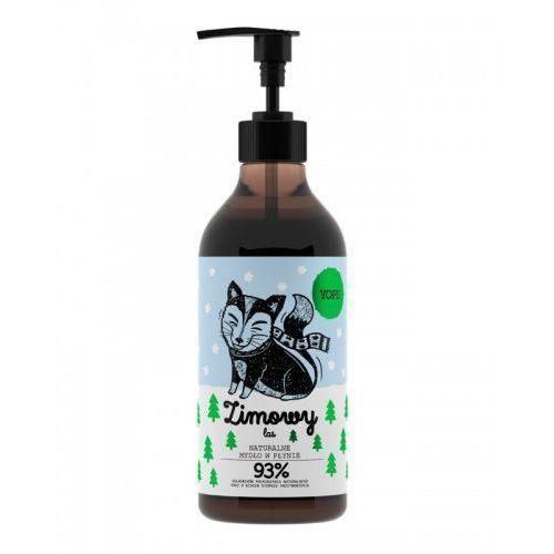 Yope Naturalne mydło w płynie - Zimowy las Naturalne mydło w płynie - Zimowy las (5900168900424)