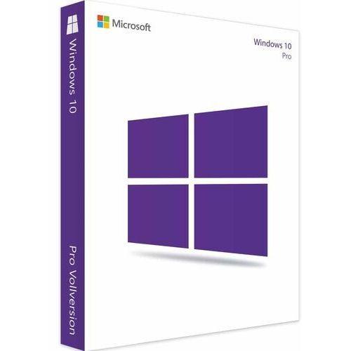 Windows 10 professional/pl/nowy klucz elektroniczny/szybka wysyłka/f-vat 23% marki Microsoft
