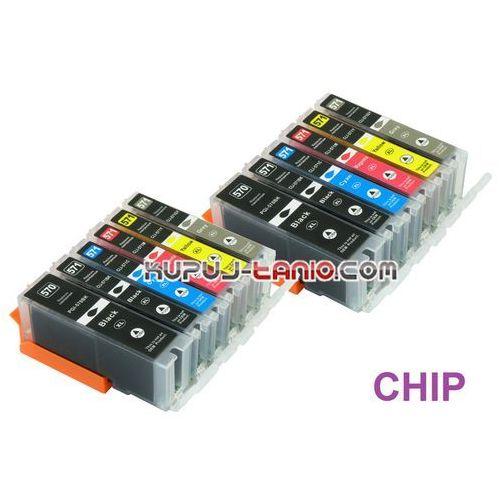 Celto .pgi-570pgbk xl - cli-571 xl tusze canon (12 szt z chipami, ) tusze do canon mg7751, canon mg7750, canon mg7752, canon mg7753 (6959080035702)
