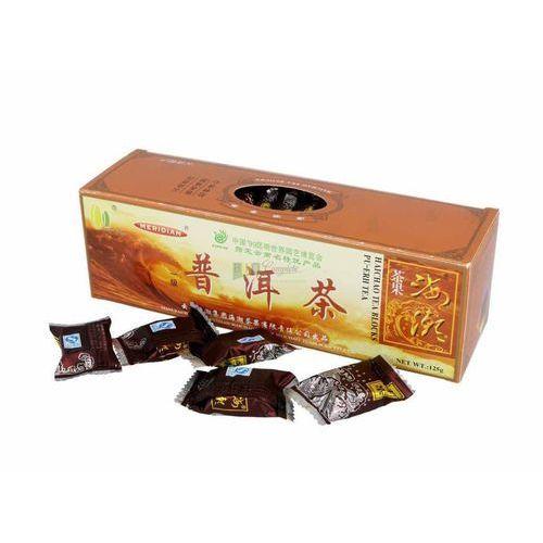 Yunnan: herbata czerwona prasowana w kostkach - 125 g, 2020