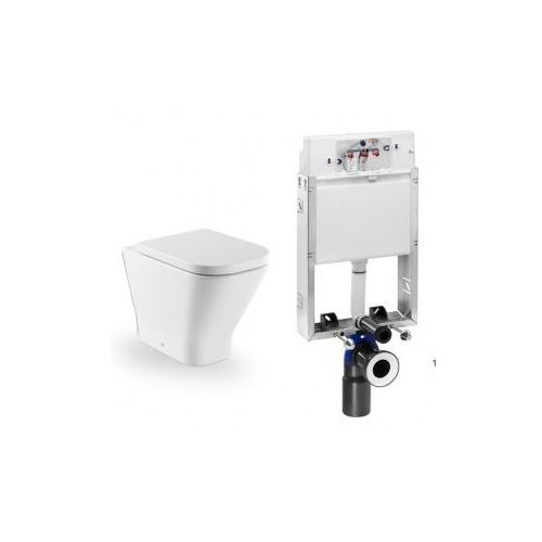 ROCA Stelaż podtynkowy PRO do wc 3/6 L + miska stojąca GAP - produkt z kategorii- Stelaże i zestawy podtynkowe