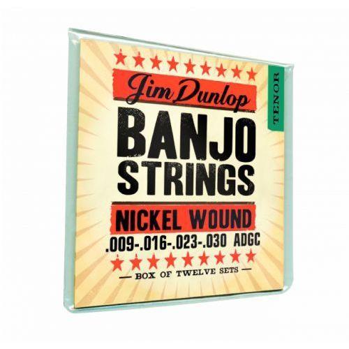 Dunlop Banjo Nickel Strings Tenor 4 Strings struny do banjo 9-30