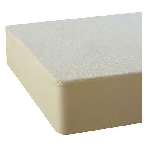 La redoute interieurs Pokrowiec wodoodporny na materac z moltonu, bawełna z recyklingu, z powłoką pur essential®