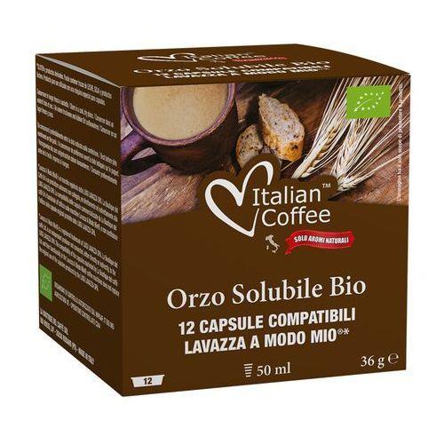 Nespresso kapsułki Orzo bio (kawa zbożowa) kapsułki do lavazza a modo mio – 12 kapsułek