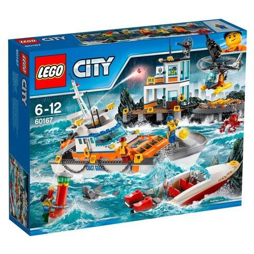 60167 KWATERA STRAŻY PRZYBRZEŻNEJ (Coast Guard Head Quarters) KLOCKI LEGO CITY