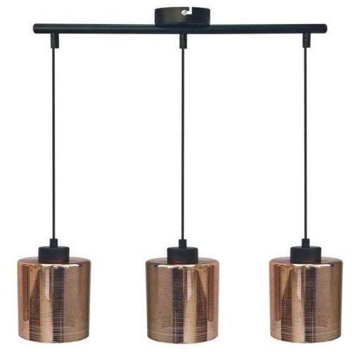 Candellux Cox lampa wisząca 3-punktowa srebrna 33-53886/ miedziana 33-51523