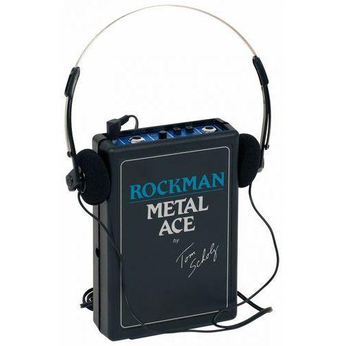 Dunlop rockman metal ace ″ wzmacniacz słuchawkowy do gitary elektrycznej
