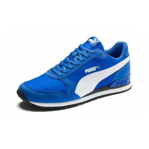 Buty męskie st runner niebieskie, Puma
