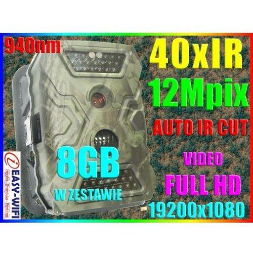 KAMERA LEŚNA MYŚLIWSKA MONITORING 24h FULL HD +8GB - produkt dostępny w Sklep Szpiegowski